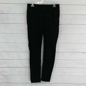 Wallflower high rise black stretch jeans size 9